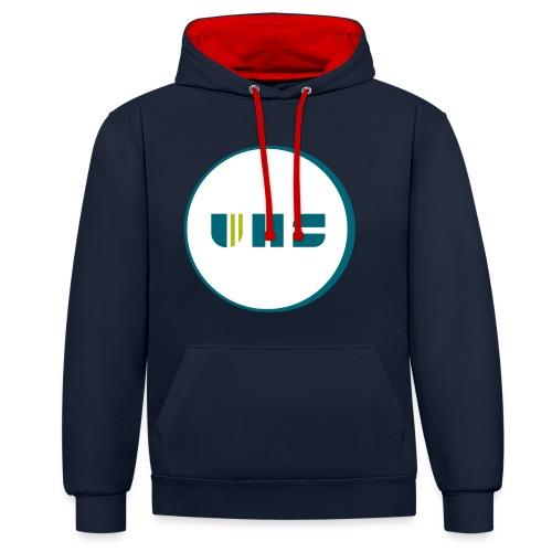 UHS Logo - Kontrast-Hoodie