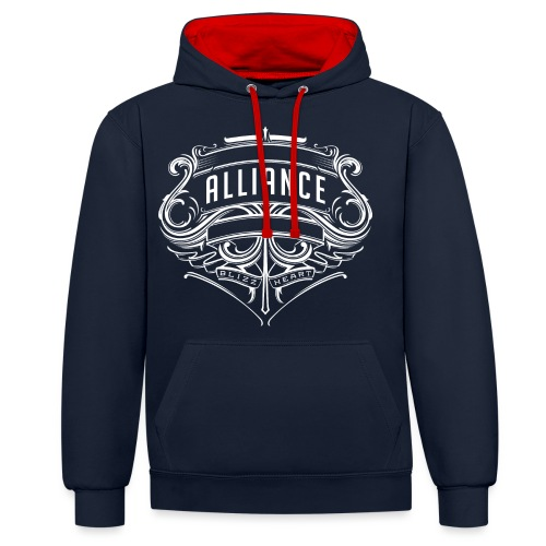 For the Alliance! - Contrast Colour Hoodie