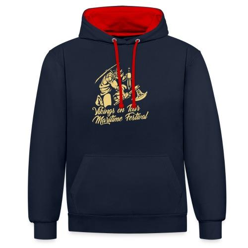 Viking Maritime - Contrast Colour Hoodie
