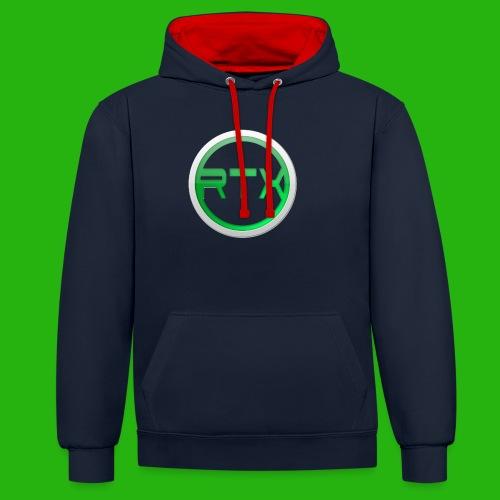 Logo Shirt - Contrast Colour Hoodie