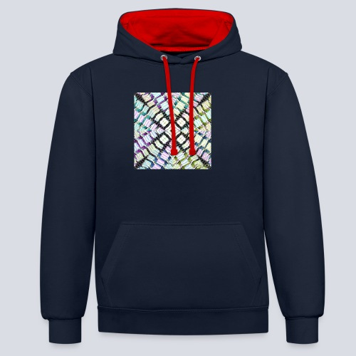 aBSTRAWIATURA 2 - Contrast Colour Hoodie