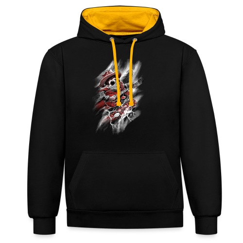 Time Rider - Contrast Colour Hoodie