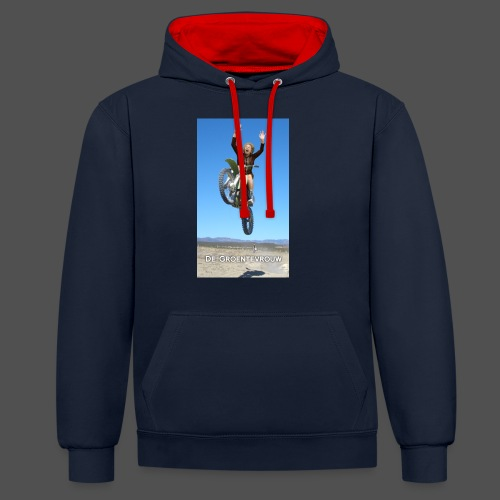 Stuntvrouw (v) - Contrast hoodie