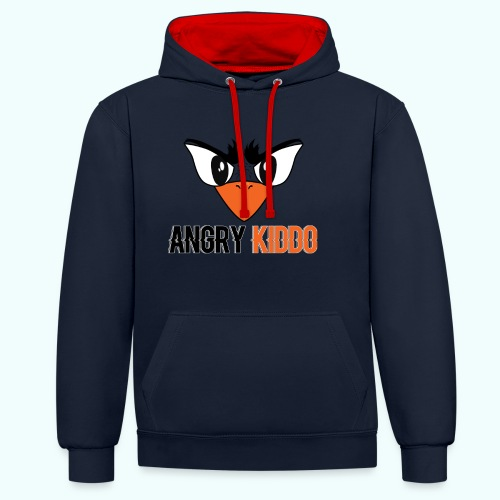 Angrykiddo - Sweat-shirt contraste