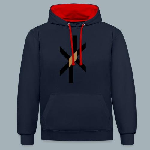 Orbit Premium T-shirt - Contrast hoodie