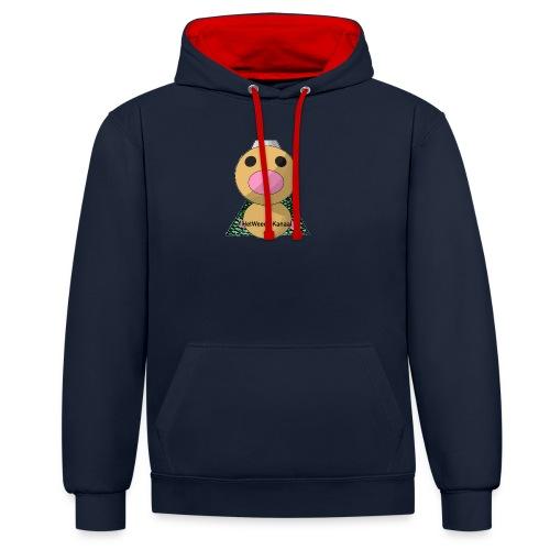 HetWeedleKanaal shirt MAAT S/M/L/XL/XXL - Contrast hoodie