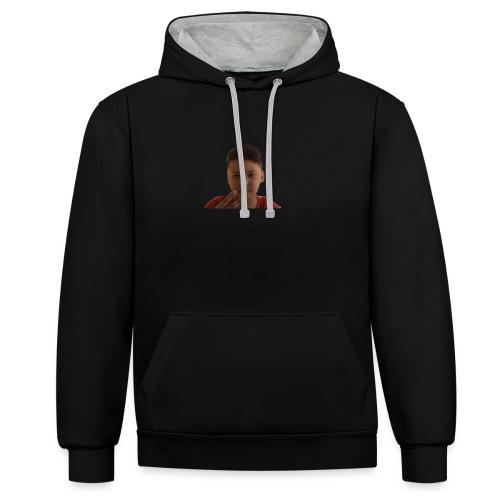 WIN 20170901 115015 burned 1 - Contrast hoodie