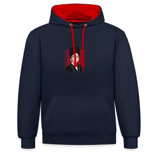 Classy - Contrast hoodie
