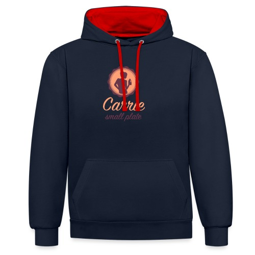 CSP_logo_Oct2016 - Contrast Colour Hoodie