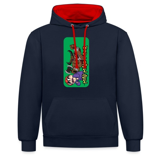 iphone 44s01 - Contrast Colour Hoodie