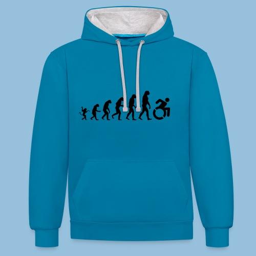 EvolutionWheelchair - Contrast hoodie