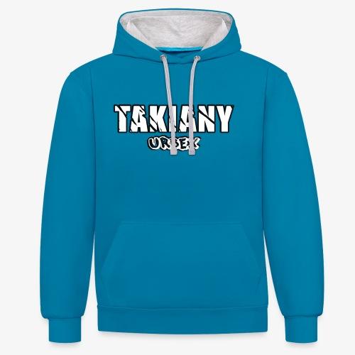 Takiany Hoodie - Contrast hoodie