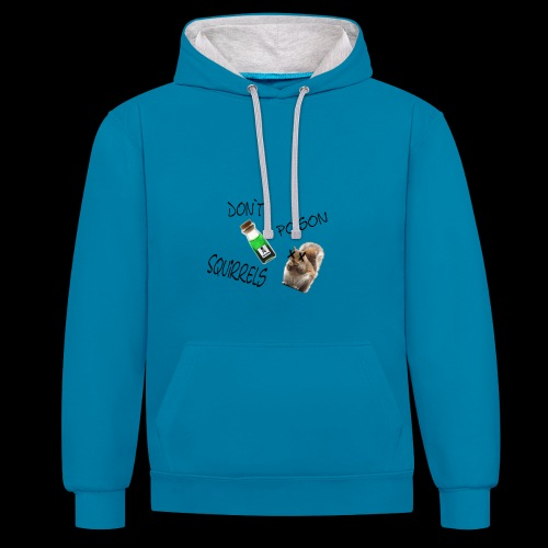 Squirrels - Contrast Colour Hoodie