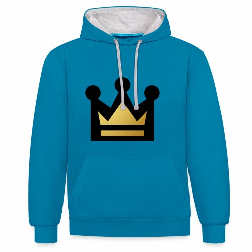 K1NG - Contrast Colour Hoodie