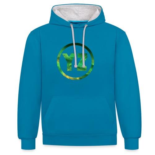 YZ-Mok - Contrast hoodie