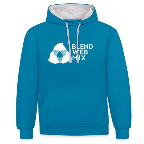 logo bland - Sweat-shirt contraste
