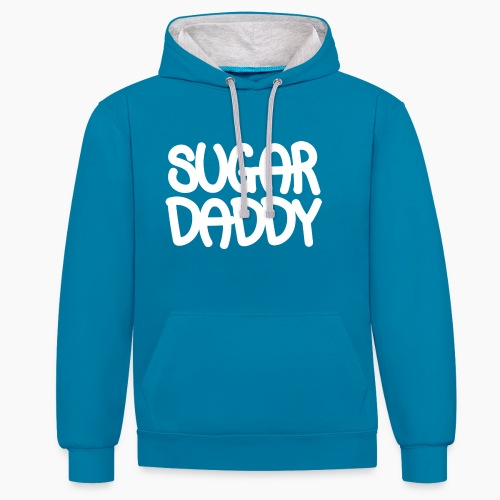 Sugar Daddy Wit - Contrast hoodie