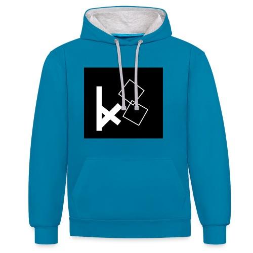 KX8 merch - Contrast Colour Hoodie
