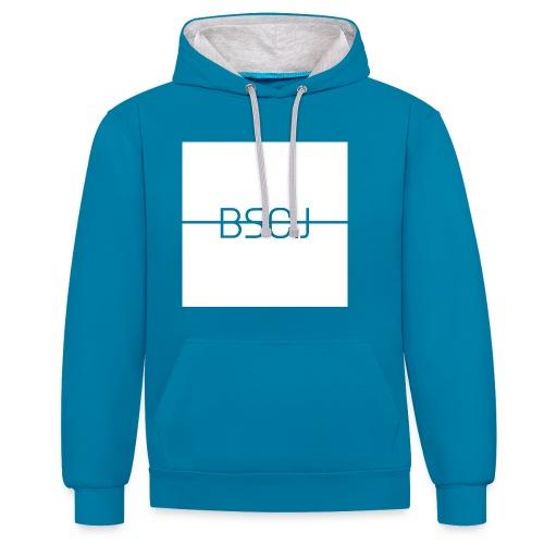 BSC.J - Contrast hoodie