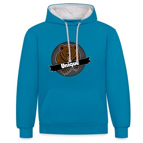 Unique Clan T-Shirt - Contrast hoodie