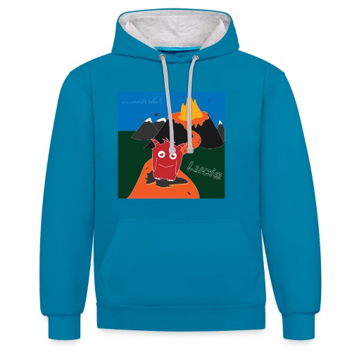 Inferno Lucie - Contrast Colour Hoodie