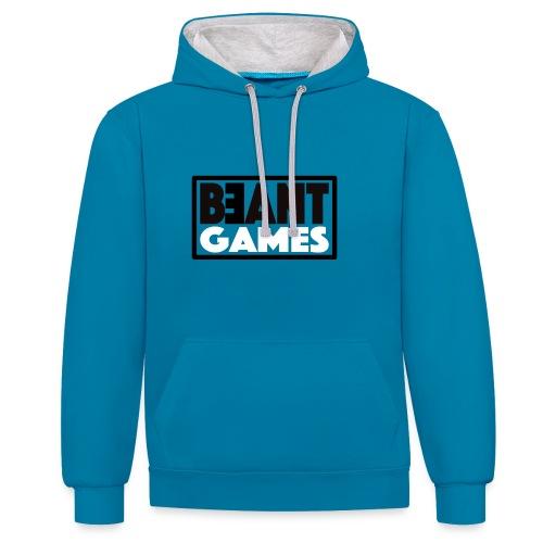 beant games - Kontrast-Hoodie