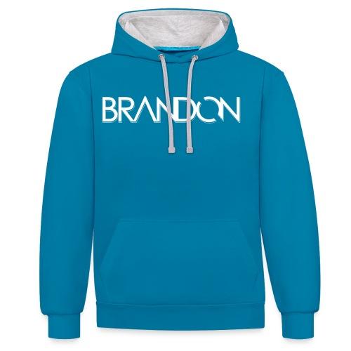 DJ BRANDON - Kontrast-Hoodie