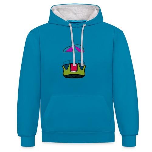 reuzenrad - Contrast hoodie