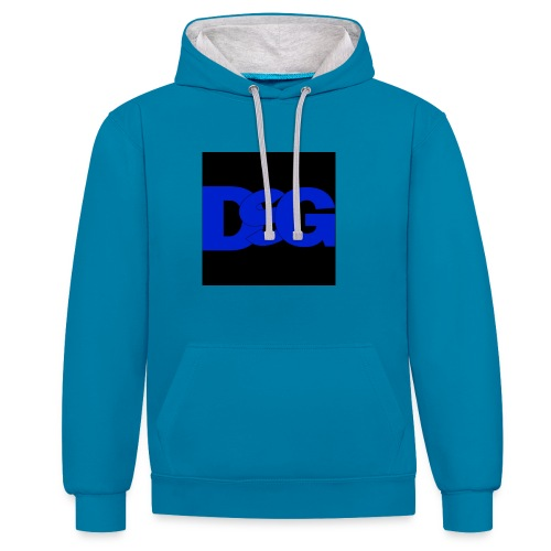 IMG 0059 - Contrast Colour Hoodie