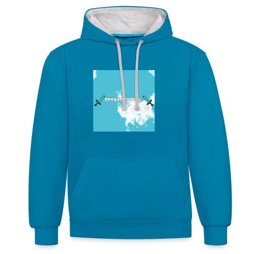 pull - Contrast hoodie