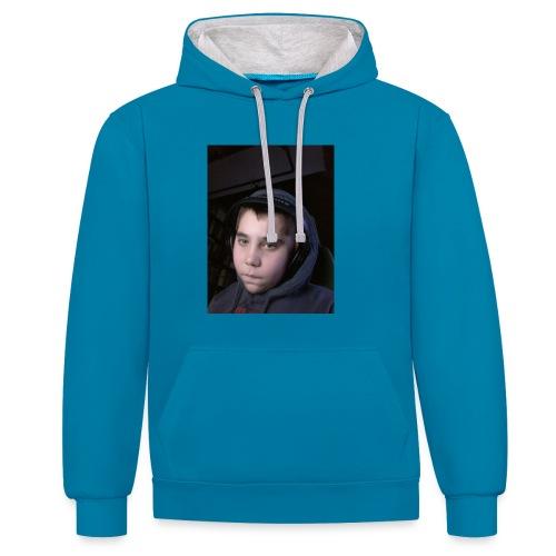 djyoutuber thisert - Contrast hoodie