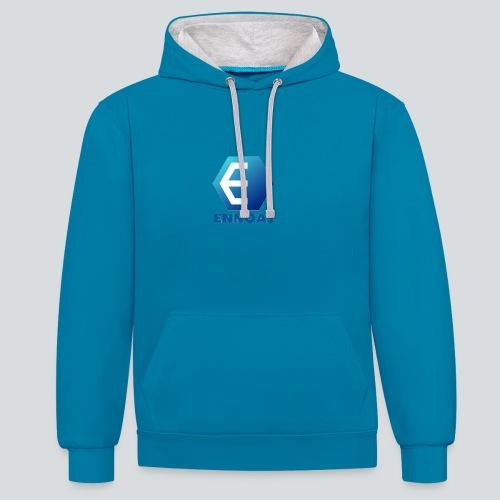 ennoaj - Contrast hoodie