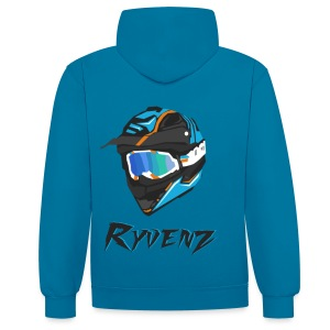 PULL RYVENZ N2 - Sweat-shirt contraste