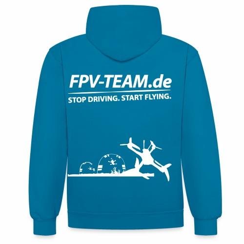 FPV-Team Copter - Kontrast-Hoodie