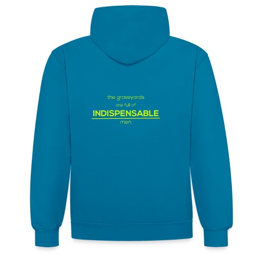 Indispensable - Contrast Colour Hoodie