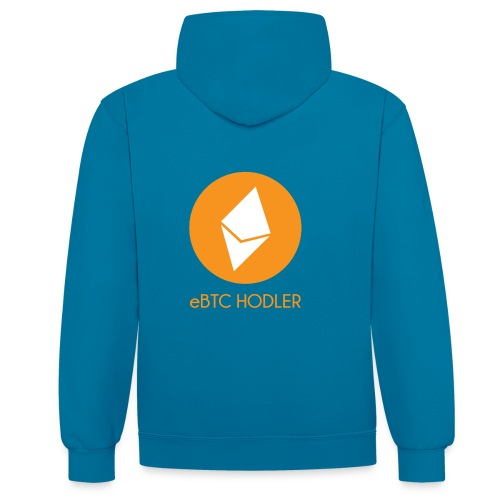 eBTC Hodler - Sweat-shirt contraste