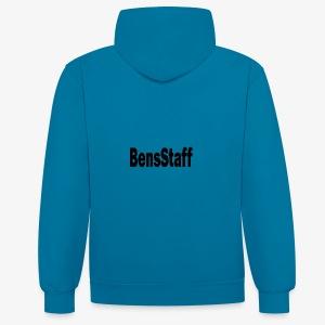 bensStaff - Contrast hoodie