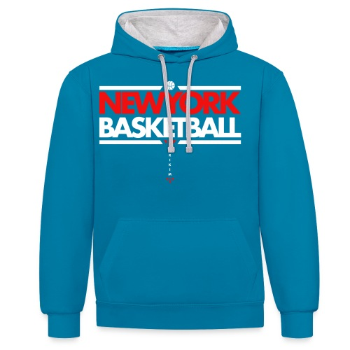 Horikima NY Basketball Men's T-Shirt - Kontrast-Hoodie