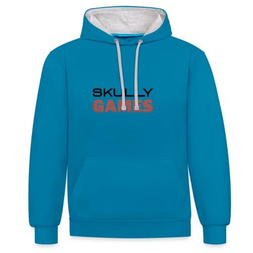 skullygames zomer editie - Contrast hoodie