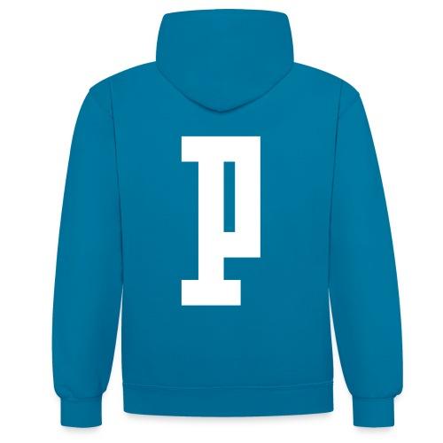 PLASQUE 1 - Contrast Colour Hoodie