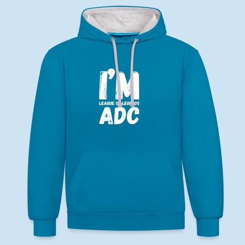 I'm ADC main - Kontrast-hettegenser