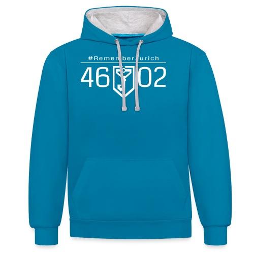 46 02 front - Sweat-shirt contraste