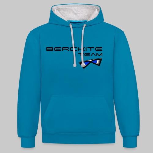 Berckite Team Bleu - Sweat-shirt contraste