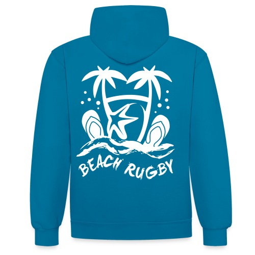 BEACH RUGBY - Sweat-shirt contraste