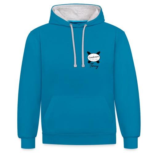 GOTV Logo png - Contrast Colour Hoodie