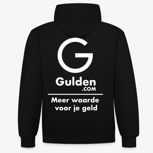 NLG - Gold Cryptocurrency - Early Adopter - Contrast Colour Hoodie