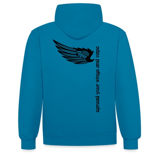 wingsandvape png - Sweat-shirt contraste