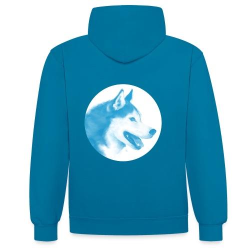 husky - 1001 nordiques - Sweat-shirt contraste