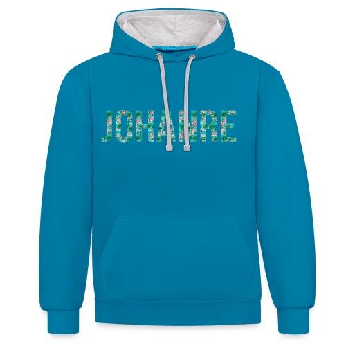 Johanre logo 1 without outer glow png - Kontrast-hettegenser