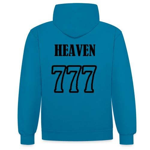 heaven - Sweat-shirt contraste